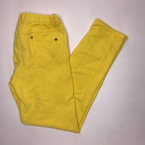 Hanna Andersson Yellow Jegging Pants